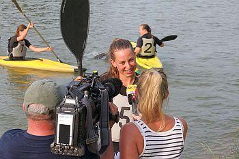 RTL Nord zu Besuch beim Kanupolo-Training