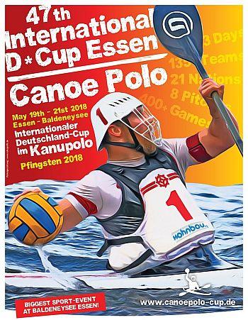 Kanupolo - Herren und Damen starten beim 47. Internationalen Deutschland-Cup